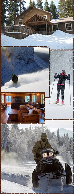 Winter Activities at Odell Lake Oregon